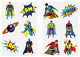 Childrens Temporary Tattoos Party Loot Bag Fillers Fun Toys Boys Girls Kids photo