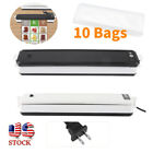 Vacuum Sealer Food Saver Storage Bag Seal A Meal Packaging Machine Sealing w/Bag