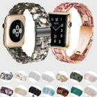 For Apple Watch Band Luxury Resin Lightweight Wristband iWatch Strap 38/40/44mm image