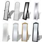 Free Standing Floor Mirror Full Length Floor Stand Dressing Make Up Mirror Home