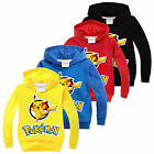 Pokemon Go Kids Boys Girls Long Sleeve Sweatshirt T Shirt Casual Tops Clothes