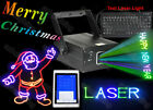Xmas Text Stage Laser Effect Light Keyboard Lazer DJ Disco Party Wedding Lights