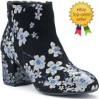NEW So Web Women's Ankle Boots Floral size 7.5, 9.5