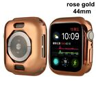 Plating Watch Cover 40mm 44mm TPU Protective Case for iWatch Apple watch 4