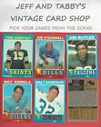 1971 TOPPS FOOTBALL YOU PICK FROM SCANS # 1 TO # 261 $1.0 USD on eBay