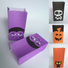 Trick or Treat Halloween Festival Candy Pouch Gift Pocket Chocolates Paper Bags