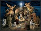 The Nativity - Chart Counted Cross Stitch Patterns Needlework DIY DMC