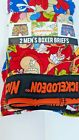 Nickelodeon Men's Boxer Briefs Rugrats 2 Pack Shorts Graphic Boxers Christmas