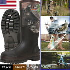 Kyпить HISEA Men's Muck Work Boots Rubber Neoprene Insulated Breathable Hunting Boots на еВаy.соm