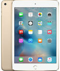 Apple iPad Mini 4 128GB, Wi-Fi, 7.9in  Gold and White.  Excellent Condition