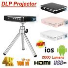 Portable X3 Mini 4K DLP Projector Mobile Phone Companion HDMI for Android / ios