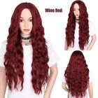 us full 23 62 women curly wavy long hair wig black brown red wig lace front wig