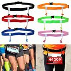 Accessories Cloth Bib Holder Race Number Belt Sports Tool Running Waist Pack image