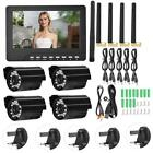 7'' Monitor DVR Motion Digtal Wireless CCTV Camera Home Security System Hot