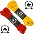 Relco Men's Red  Yellow Laces Skinhead Mod Scooter Dr Martens Boots 140cm 210cm
