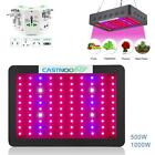 500/1000W LED Grow Light  Indoor Hydro Flower Grow Panel+Adapter Converter FE