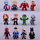 Marvel Avengers DC Comics Hulk Kids Toy Figures Cake Toppers Gift