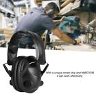 Foldable Protective Earmuff Tactical Headphone Sound Insulation Noise Cancelling