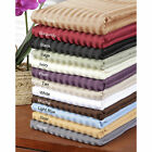 Gorgeous 1 PC Fitted Sheet Egyptian Cotton 1000 TC US King Striped Colors image