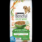 Purina Beneful Healthy Weight Dry Dog Food, Healthy Weight With Real Chicken