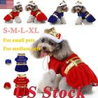 Cute Pet Dog Halloween Christmas Apparel Puppy Clothes Festival Cosplay Costume
