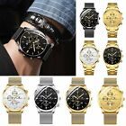 FNGEEN Stainless Steel Men Fashion Analog Sport Quartz Date Watch Military New image