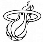 Miami Heat NBA Basketball Sticker Decal on eBay