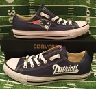 NEW! New England Patriots Custom Made Converse Chuck Taylor Sneakers NFL $95.0 USD on eBay