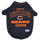 Chicago Bears Officially Licensed NFL Dog Pet Tee Shirt, Navy Blue XS-XL $17.95 USD on eBay