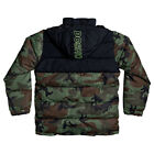 DC NEW Men's Straffen Puffer Jacket - Camo BNWT