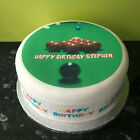 Snooker pre-cut Edible Icing Cake Topper or Ribbon £4.25 GBP on eBay