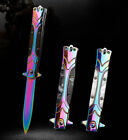 Tactical Survival Folding Blade Knife Pocket Camping Hunting Outdoor Knives