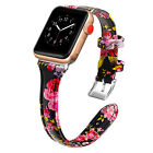 Genuine Leather Band For Apple Watch Series 5/4/3/2/1 42/44mm 38/40mm Women Men
