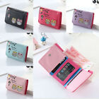 Cute Women Small Wallet Leather Short Trifold Card Holder Mini Money Purse NEW image