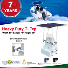 Oceansouth Heavy Duty Boat T-Top White Powder Coated image