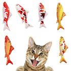 Cute Pet Cat Simulation Fish Plush Pillow Toy Catnip Chewing Mint Playing Toys