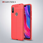 For Xiaomi Redmi Note 8 7 6 5 Pro 6A Shockproof Soft TPU Leather Back Case Cover