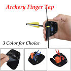 Archery Finger Tab Finger Protector  for Recurve Bow Hunting 3Color for Choice