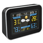 WiFi Weather Forecast Station Alarm Clock Hygrometer Thermometer APP Control