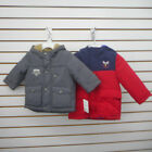 Infant  Toddler Boys Carters Assorted Hooded Puffer Jackets Size 18Mth.  3T