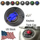 Motorcycle Keyless Fuel Tank Gas Cap Aluminum Cover For YamahaMT-032006-2009