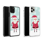 Father Christmas Santa Xmas Snowman Phone Case For iPhone 11 Pro X XS XR 8 7 6