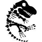 'Dinosaur Fossil' Rubber Stamp (RS000151)
