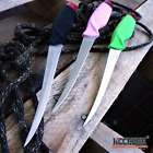 """11 5/8"""" Fishing FILLET Skinning KNIFE w/ ABS Sheath Outdoor Camping Survival"""
