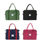 1pcs Canvas Portable Storage Luggage Carry-on Organizer Hand Shoulder Duffle Bag