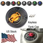 Motorcycle Fuel Tank Cap Cover Aluminum Keyless For Ducati 1098 S R all years