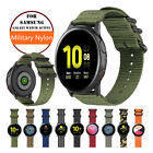 Woven Nylon Sport Watch Band Strap For Samsung Galaxy Watch Active 1 2 40/44mm image