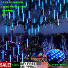 Meteor Shower Falling Star/Rain Drop/Icicle Snow LED Christmas Outdoor Light BLU