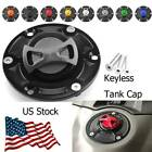 8 Colors Aluminum Keyless Motorcycle Tank Cap For Triumph Tiger 800 All Years $26.12 USD on eBay