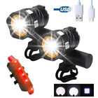 Внешний вид - Rechargeable 15000LM XML T6 LED ZOOM USB Front Head Bike Bicycle light Rear Lamp
